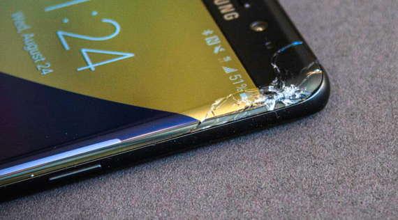Χάλασε η οθόνη του Samsung Galaxy μου. Πόσο θα μου κοστίσει να την επισκευάσω?